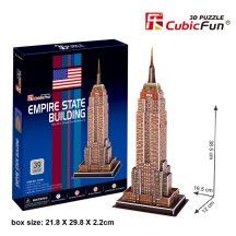 3D puzzle: Empire State Building CubicFun 3D épület makettek