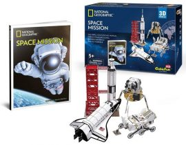 3D puzzle: Space Mission - National Geographic CubicFun 3D vehicle models