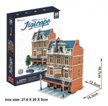 3D puzzle: West End Színház (UK) CubicFun 3d híres épület makettek