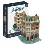 3D puzzle: Corner Saving Bank (UK) CubicFun 3D famous building