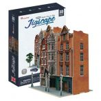 3D puzzle: Auction House & Stores (UK) CubicFun 3d híres épület makettek