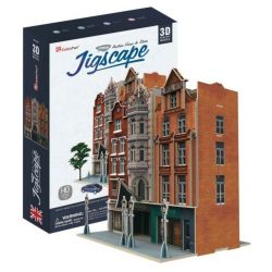 3D puzzle: Auction House & Stores (UK) CubicFun 3D famous building