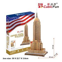 3D puzzle: Empire State Building (USA) CubicFun building models