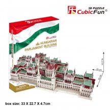 3D puzzle: Magyar Parlament épülete CubicFun 3D híres magyar épület makettek
