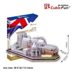 3D puzzle: Westminster abbey CubicFun 3D building models