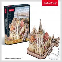 3D puzzle: Famous Hungarian Buildings - Matthias Church / Fisherman