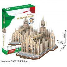 3D profi puzzle: Milánói Dóm CubicFun 3D híres épületek