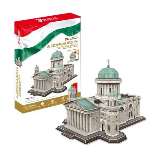 3D puzzle: Sankt-Adalbert-Kathedrale (Esztergom) - berühmte historische Gebäude - Cubic Fun