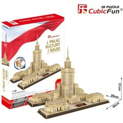 3D puzzle: Palace of Culture and Science CubicFun 3D famous historical building