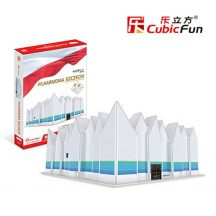 3D puzzle: Filhamónia Szczecin Cubicfun 3D building models
