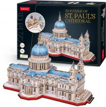 3D professional puzzle: Saint Paul's Cathedral (UK) CubicFun 3D building models