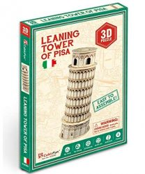 3D small puzzle: Leaning Tower of Pisa CubicFun building models