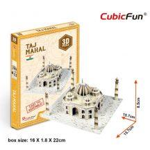 3D kicsi puzzle: Taj Mahal CubicFun 3D épület makettek