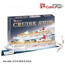 3D puzzle: Cruise Ship CubicFun 3D jármű makettek